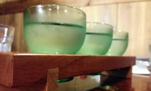 Many Japanese restaurants serve sake samplers as an option.